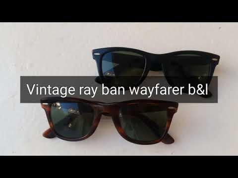 b&l ray ban usa wayfarer 5024