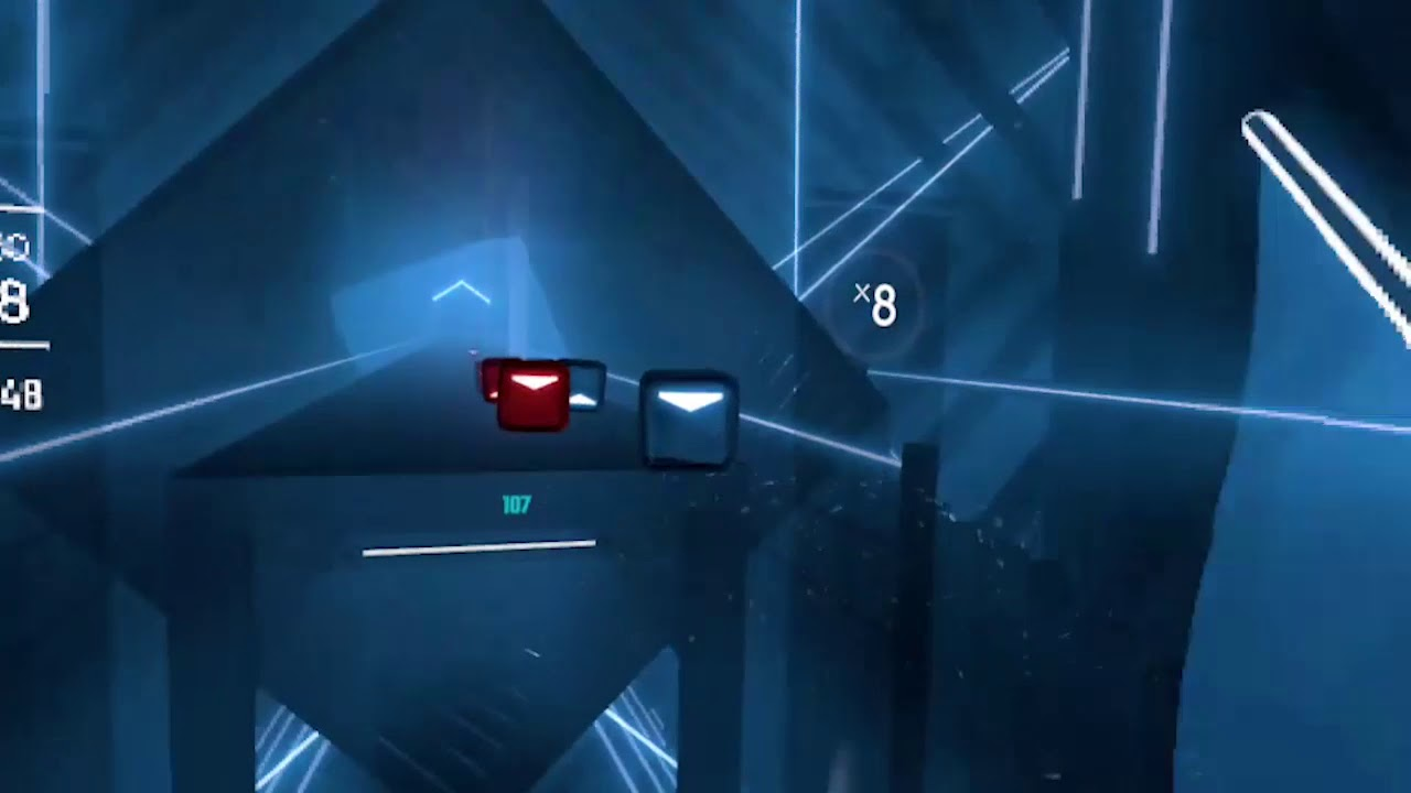 Beat Saber on Quest -