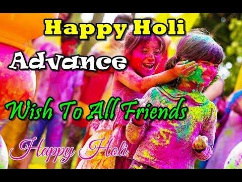 Best Holi Whatsapp Status Video Free Download