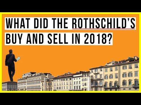 Rothschild Sold MASSIVE Amounts of U.S. Assets in 2017! But What About 2018?