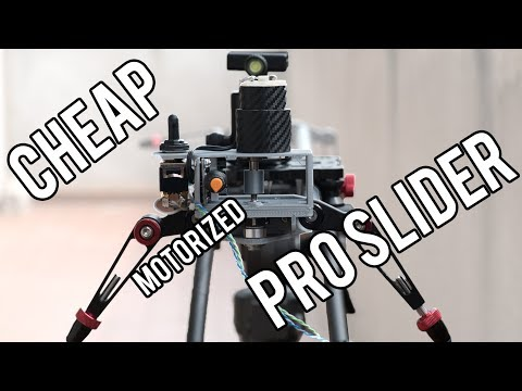 How to Build a Professional Motorized Camera Slider DIY