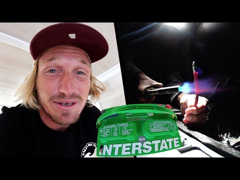HOW TO INSTALL an EXTRA BATTERY for VAN LIFE