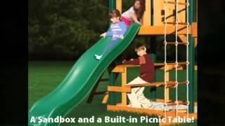Overlook Swing Set - Gorilla Playsets - Playsetking.com