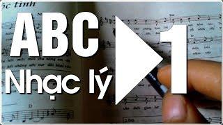 Học đàn Guitar ABC - NHẠC LÝ CƠ BẢN - 1