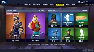 🔴 HIME & MUSHA Skins, Electro Swing Emote - May 9th - Fortnite Daily Item Shop LIVE