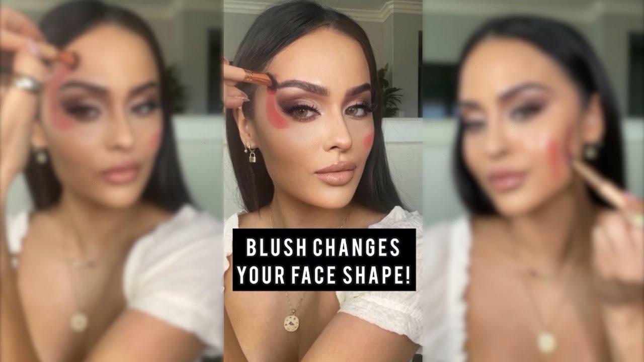 Blush Changes Your Face Shape!