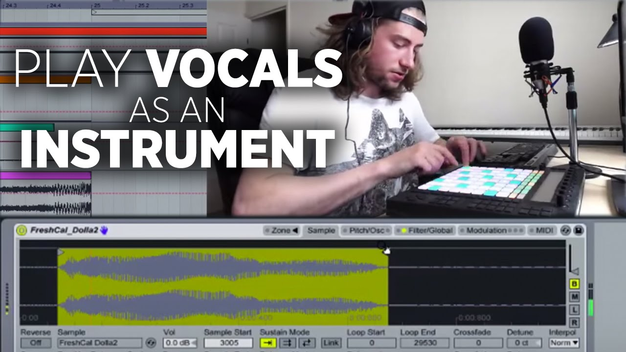 Playing Vocal Samples Like An Instrument In Ableton - DJ TechTools