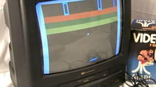 VINTAGE 1977 VIDEO PINBALL BY ATARI MODEL C-380