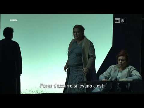 Tristan und Isolde, Tristano e Isotta, Wagner Richard, italiano, Gatti, Teatro Opera di Roma, 2016