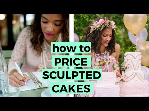 How to Price your Sculpted Cakes