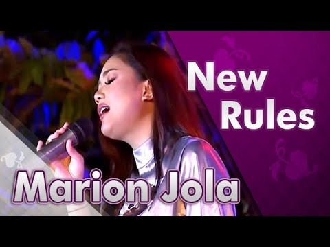 Marion Jola - New Rules