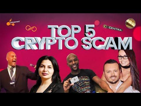 TOP5 CRYPTO SCAMS.