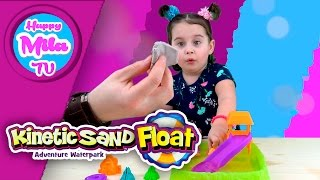 Kinetic Sand Float Adventure Waterpark Spin Master funny review | HappyMilaTV #67
