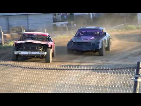 6-3-2017 Pure Stock Heat Race