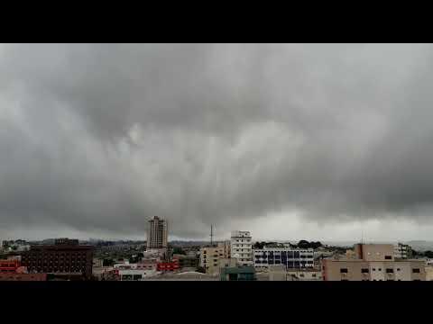 Time lapse Chuva em Guarapuava
