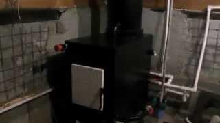 Твердотопливный котел длительного горения(Твердотопливный котел длительного горения с водяной рубашкой вокруг топки и трубы. Заслонка подачи воздух..., 2015-03-13T18:32:08.000Z)