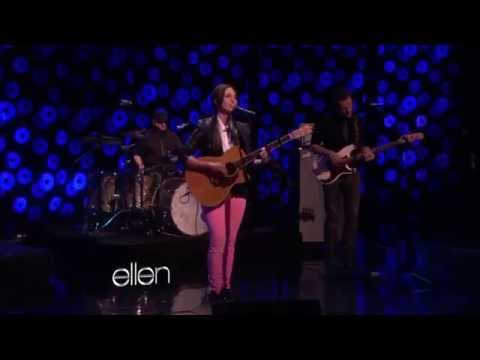 Sara Bareilles on Ellen - Let the Rain