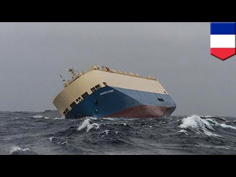 Ship accident: stricken cargo ship Modern Express set to collide with the French coast - TomoNews