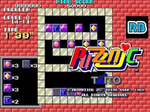 1989 [60fps] Puzznic 9999990pts