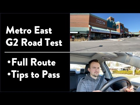 Metro East G2 Road Test  - Full Exam with Route & Tips on How to Pass Your Driving Test in Toronto