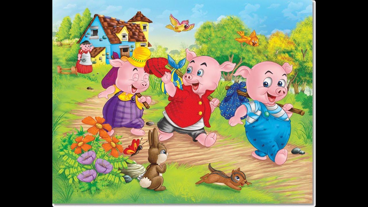 cerdos de dibujos animados dibujos animados para los nios  YouTube
