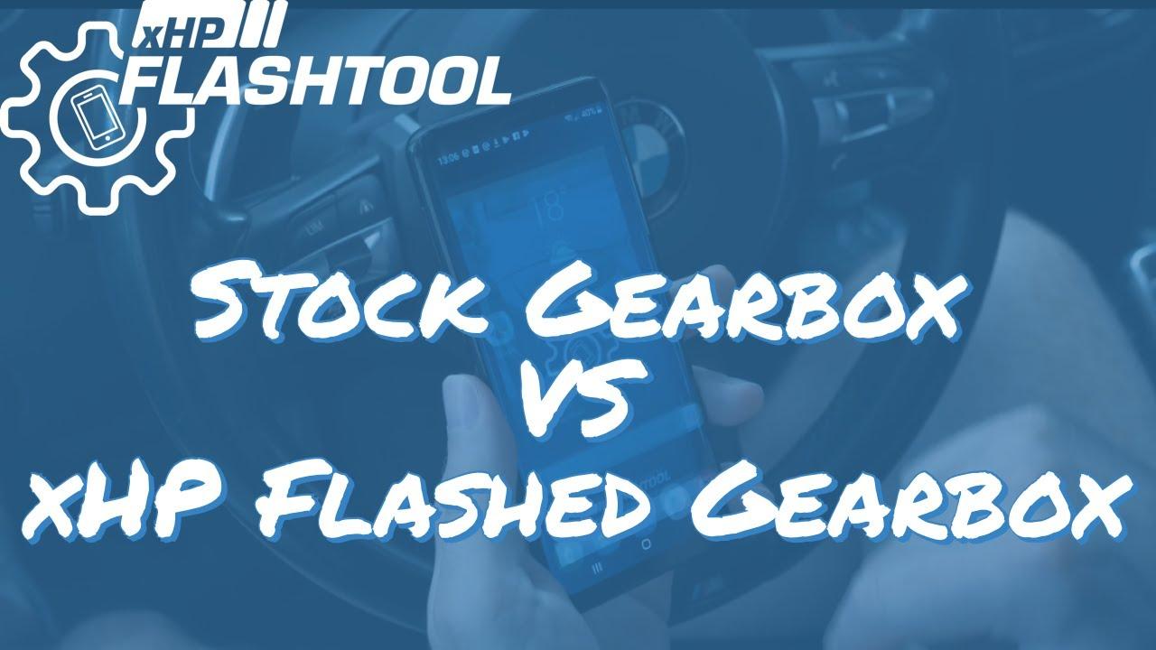 xHP Flashtool - 335i Stock Gearbox vs  335i xHP flashed Gearbox