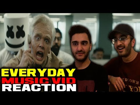 LOGIC, MARSHMELLO - EVERYDAY MUSIC VIDEO REACTION/DISCUSSION