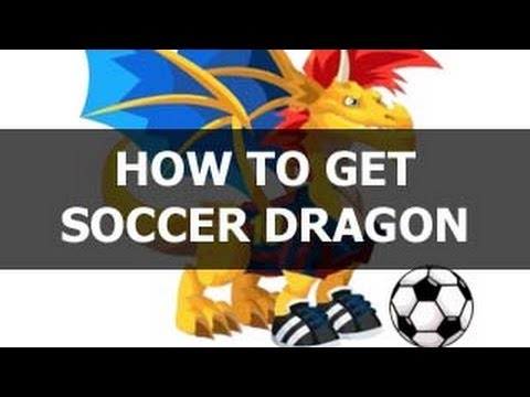 How To Get Soccer Dragon In Dragon City EASY BREED!