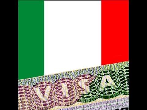 Документы для визы в Италию. Оформление визы в Италию