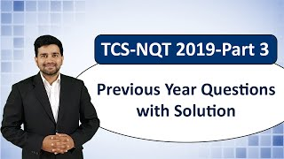 TCS NQT 2020- Fully Solved Previous Year Repeated Questions Part 3! TCS NINJA & DIGITAL Questions !