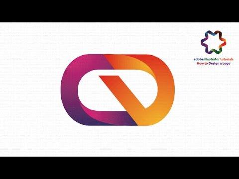illustrator tutorial create 3d letter logo design combination two letter cd youtube