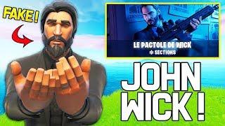 CE FAUX JOHN WICK DOMINE DANS LE NOUVEAU MODE ''LE PACTOLE DE WICK'' SUR FORTNITE !