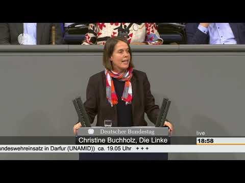 Christine Buchholz, DIE LINKE: Bundesregierung kooperiert mit Diktator im Sudan