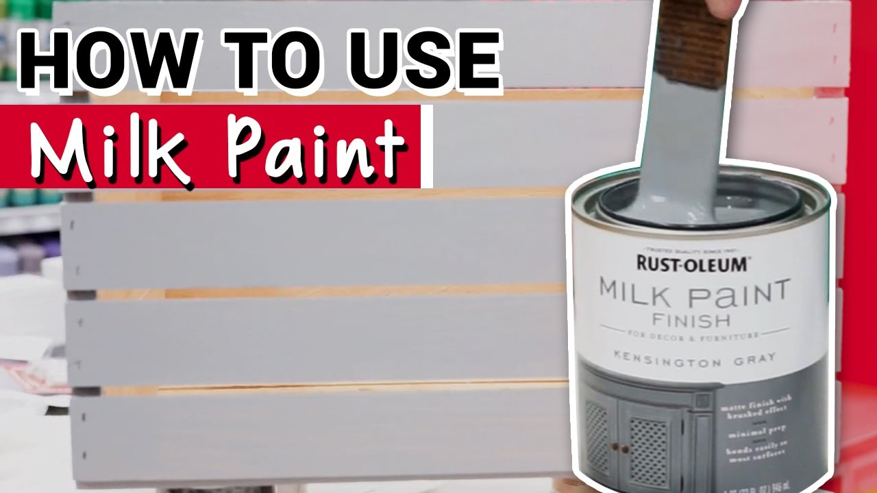 How To Use Rust Oleum Milk Paint Ace