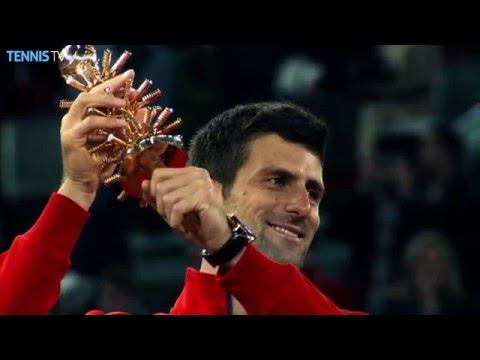 2016 Mutua Madrid Open Final Highlights: Novak Djokovic v Andy Murray
