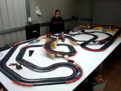 43rd SCX Compact Slot Car Track