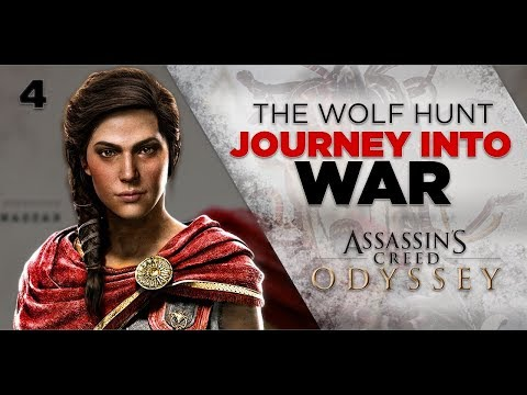 Assassins Creed Odyssey Gameplay | THE WOLF HUNT - A Journey Into War [4] 1