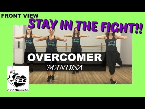 OVERCOMER || MANDISA || P1493 FITNESS® || CHRISTIAN FITNESS