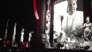 JAY-Z - Holy Grail -  feat. JT - Live at Fenway Park - 8/10/2013 -  Legends of the Summer Tour