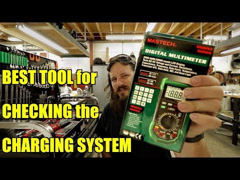 Harley Davidson Charging System Check on