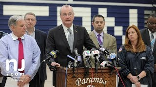 Video Gov. Murphy speaks about school bus accident on I-80 download MP3, 3GP, MP4, WEBM, AVI, FLV Mei 2018