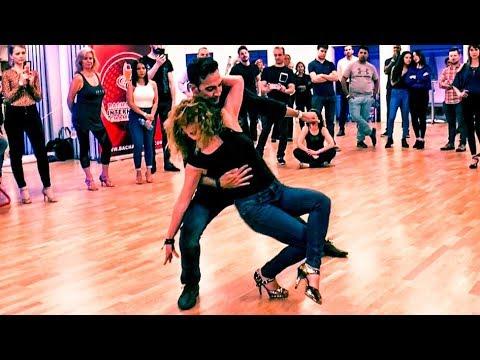 Bachata Moderna Demo by James & Evelyn (Bachata Spice - Flow Dance London).