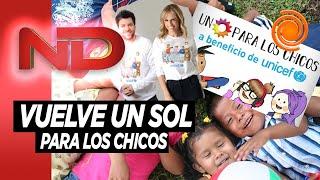 """""""Por primera vez, Unicef está dando de comer a los niños"""" #UnSolparaloschicos muy pronto en #eldoce"""