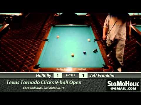 Texas Tornado - Clicks 9-ball Open - Day 2