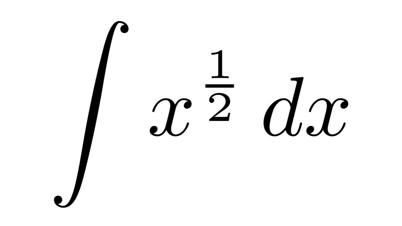 Integral of x^(1/2)