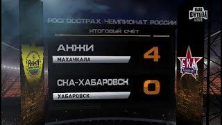 обзор матча: РФПЛ. 19-й тур. Анжи - СКА-Хабаровск