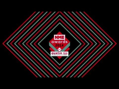 Paul McCartney accepts Songwriter's Songwriter award at NME Awards 2014 with Austin, Texas