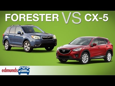 Subaru Forester Vs Mazda CX-5 | Which Crossover SUV Is Better?