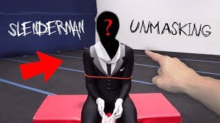 WE FINALLY UNMASKED SLENDERMAN AT 3 AM!! (WE ACTUALLY DID IT!!)