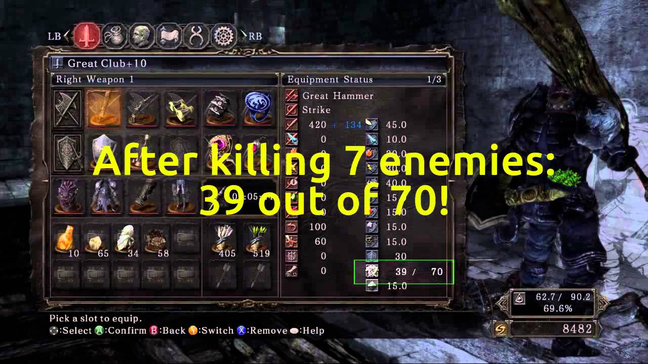 707f6f78b872 Dark Souls 2 Durability Issues - YouTube